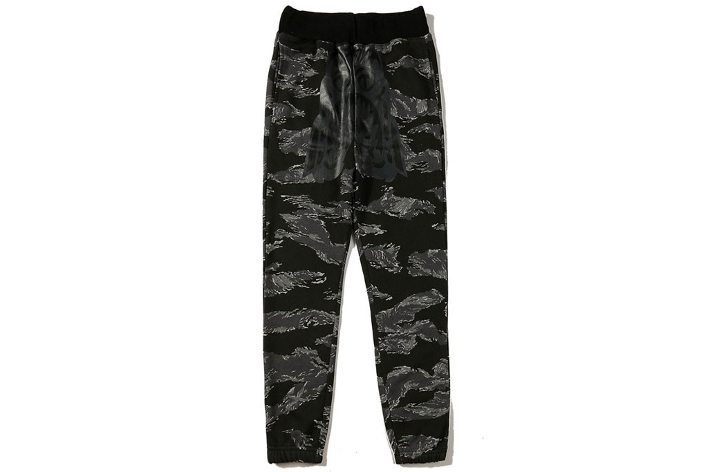 17SS CAMO SLIM SWEAT PANTS