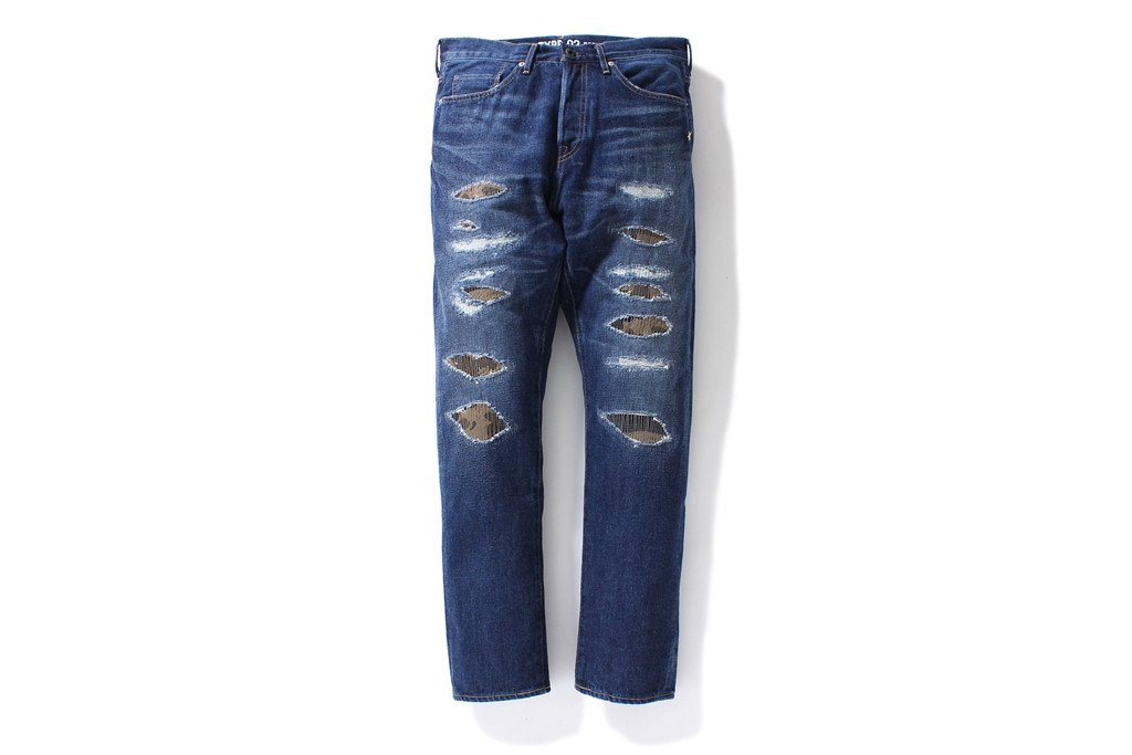1999 TYPE-02 DAMAGED DENIM PANTS