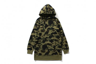 1ST CAMO PULLOVER HOODIE ONEPIECE
