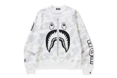 CITY CAMO SHARK CREWNECK