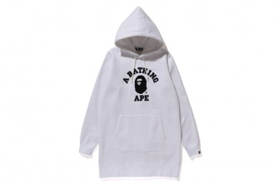 RUBBER COLLEGE HOODIE ONEPIECE